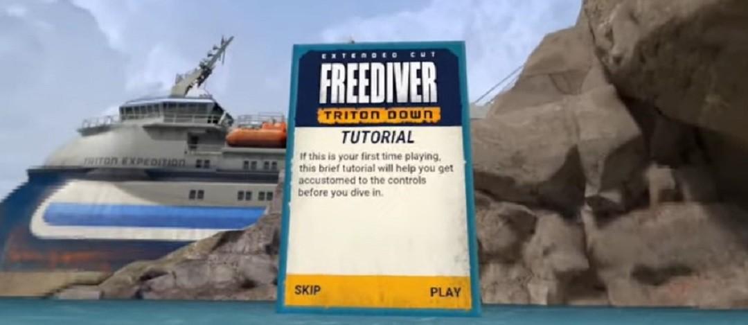 Freediver Oculus Quest avis test tutoriel