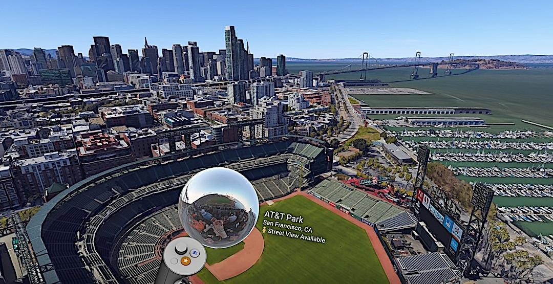 Google Earth VR jeu gratuit exploration