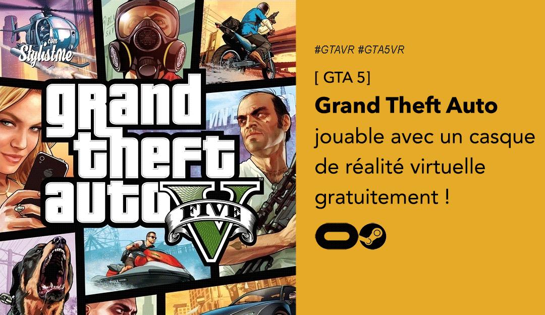 GTA 5 VR Grand Theft Auto Oculus Rift Quest