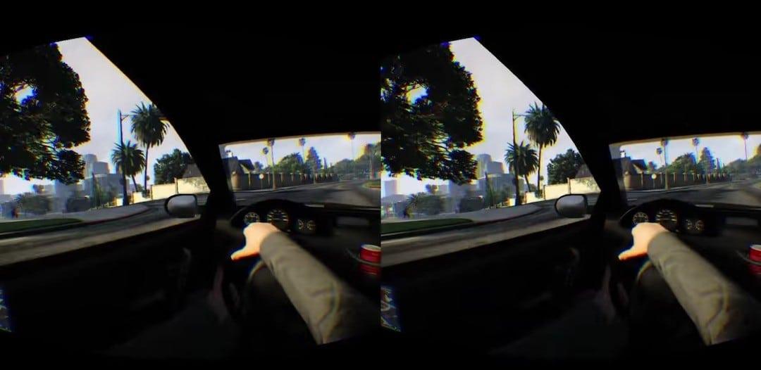 GTA 5 VR oculus Rift