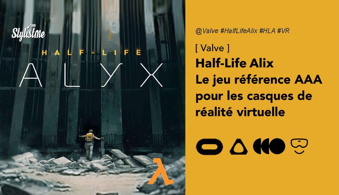 Half-Life Alyx test avis prix date : le meilleur jeu en réalité virtuel