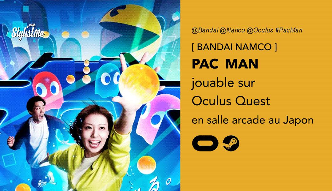 Pac Man Oculus Quest
