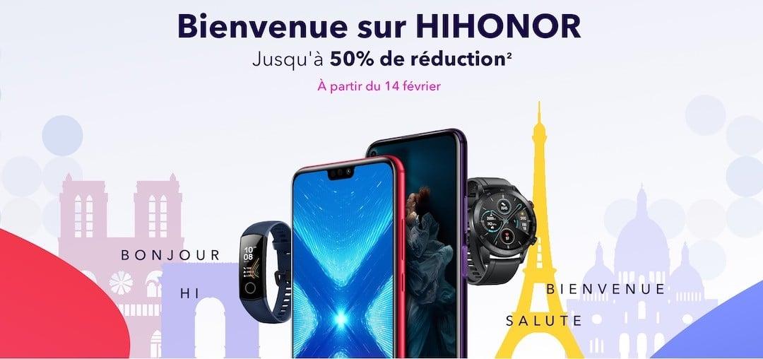 Réduction Honor site officiel HiHonor soldes promotions