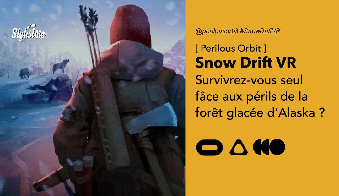Snow Drift VR test avis prix date oculus valve HTC