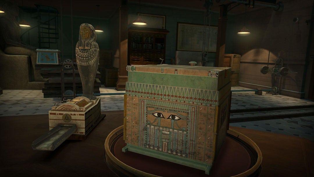 The Room VR A Dark Matter escape game oculus valve htc PSVR