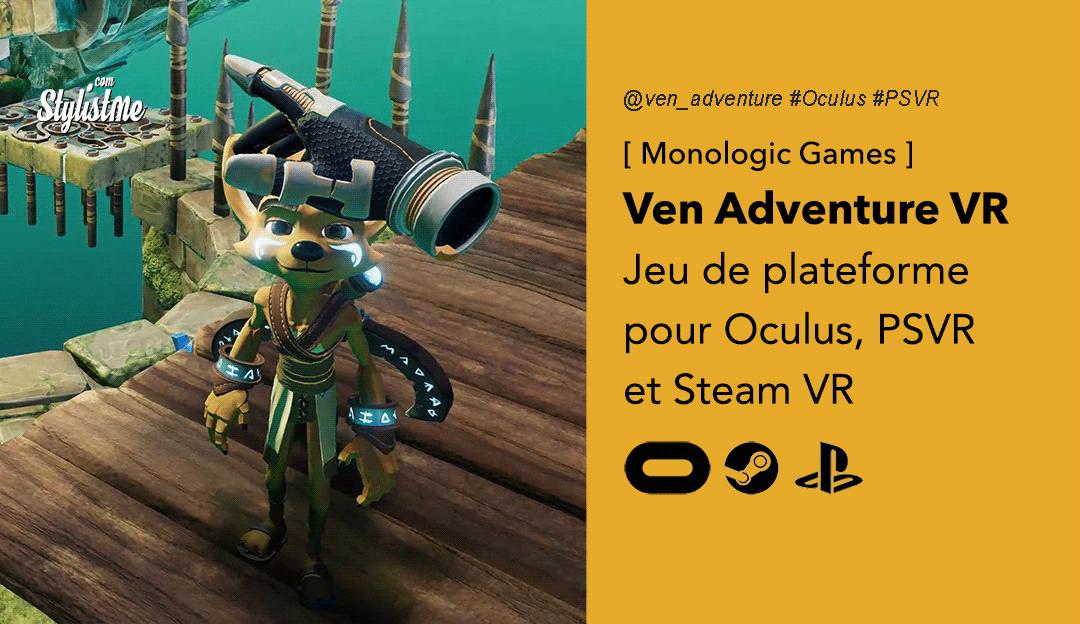 Ven Adventure VR prix date test avis