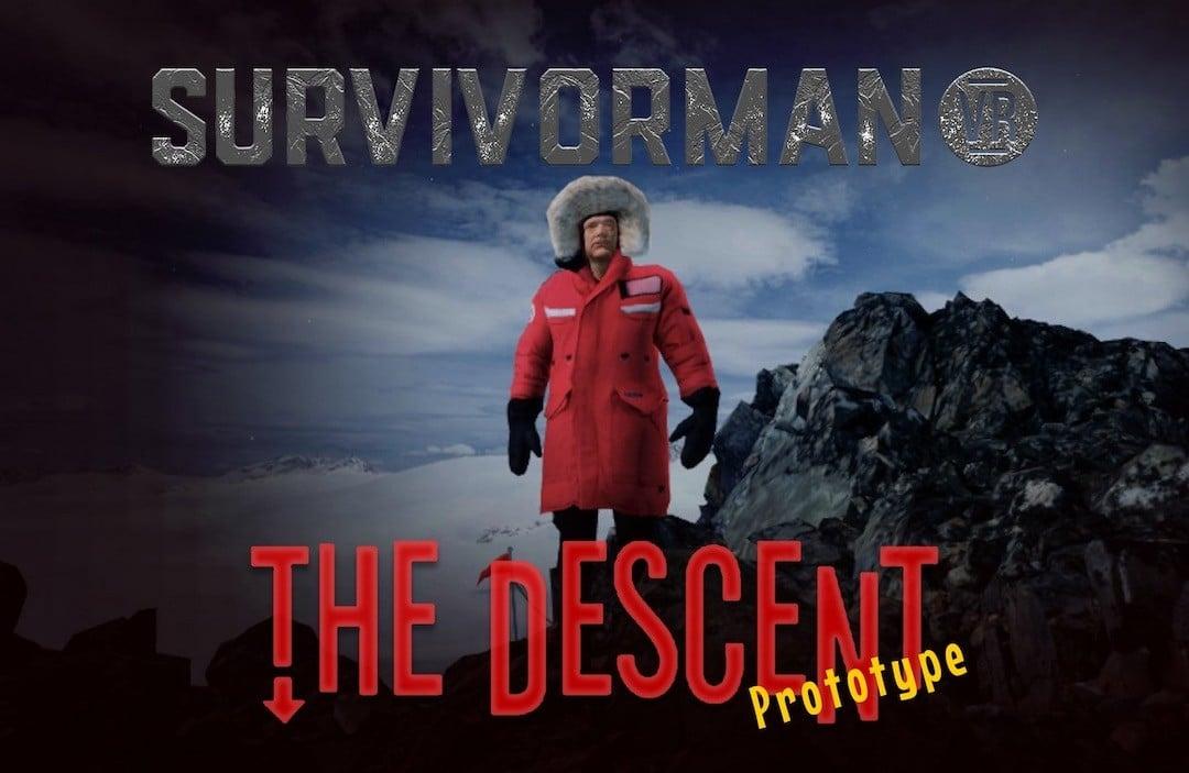 Survivorman The Descent heu quest gratuit SideQuest