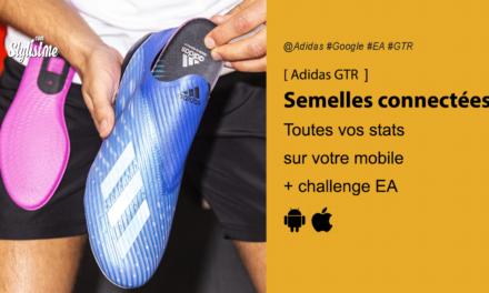Adidas GMR semelles et Jacquard Tag vos chaussures de foot connectées