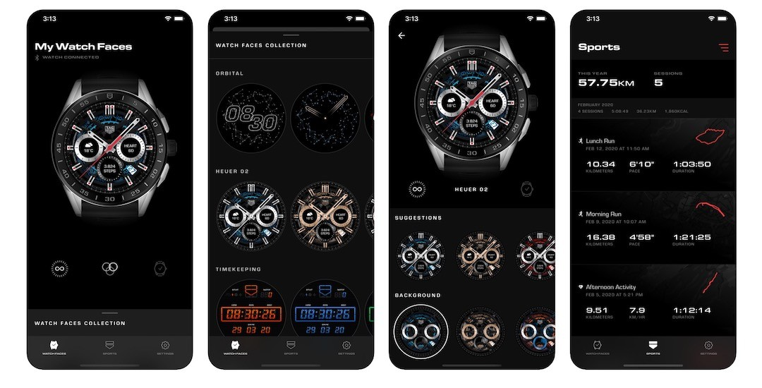 App TAG Heuer Connected 2020 iPhone Android