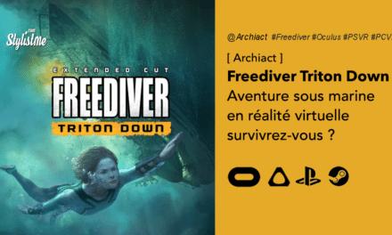 Freediver: Triton Down l'aventure sous marine en réalité virtuelle sur Oculus et PSVR