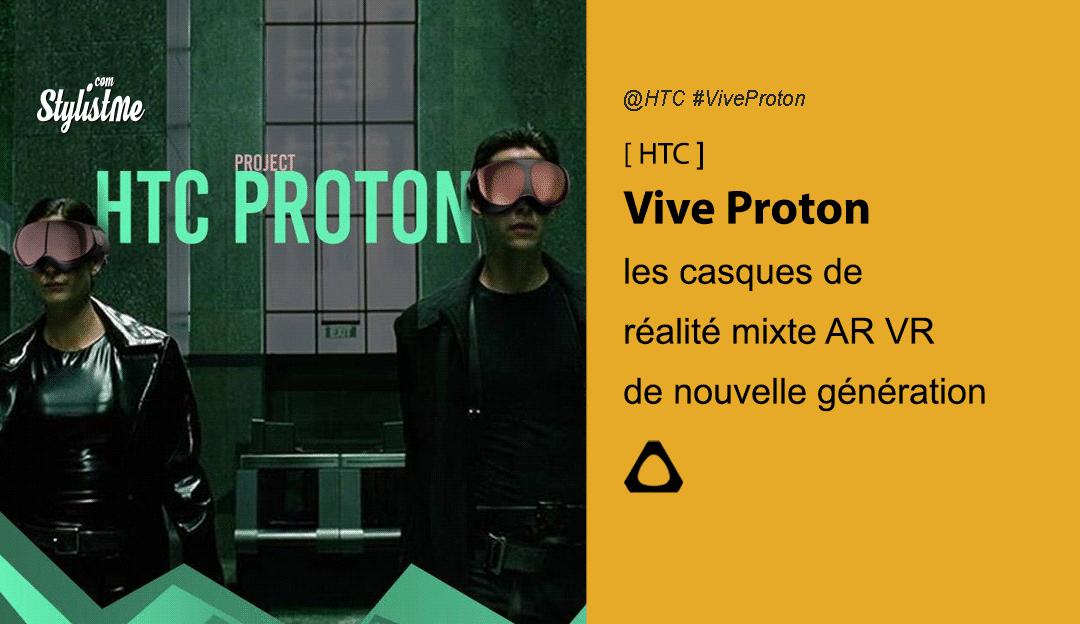 HTC Vive Proton casque réalité mixte 5G