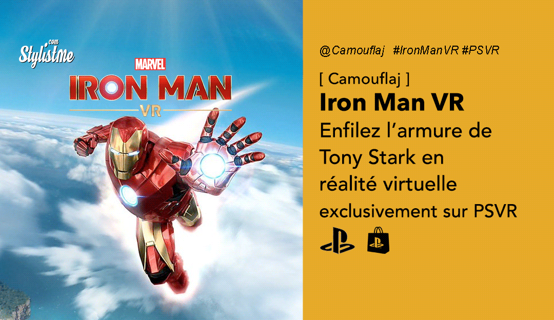 Iron Man VR avis test prix date PSVR