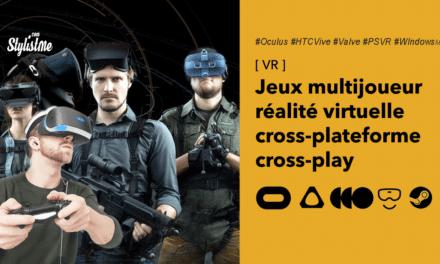Jeux VR crossplay multijoueurs Oculus Rift, Quest, PSVR, Steam