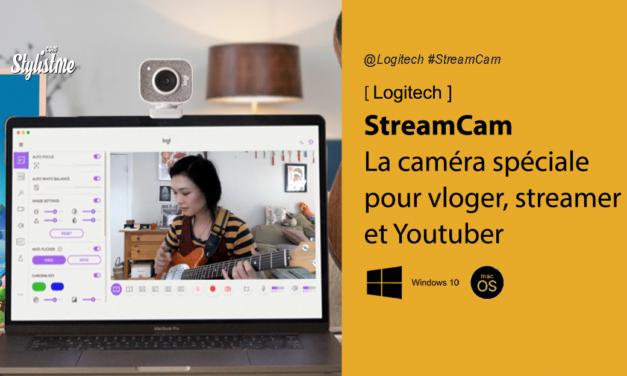 Logitech Streamcam la caméra full HD en 60 ips pour vlogers et streamers