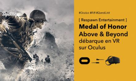 Medal of Honor VR  Above and Beyond sur Oculus Rift et Quest Link