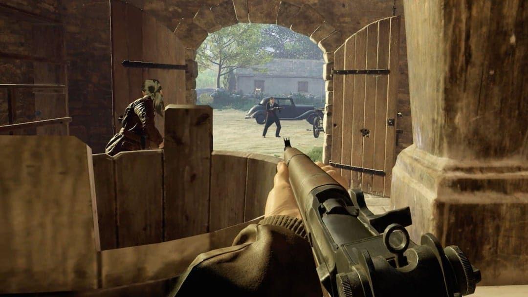 Medal of honor VR test Oculus Rift