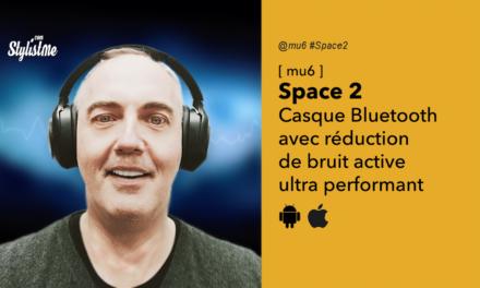 Mu6 Space 2 test casque Bluetooth filaire à super réduction de bruit