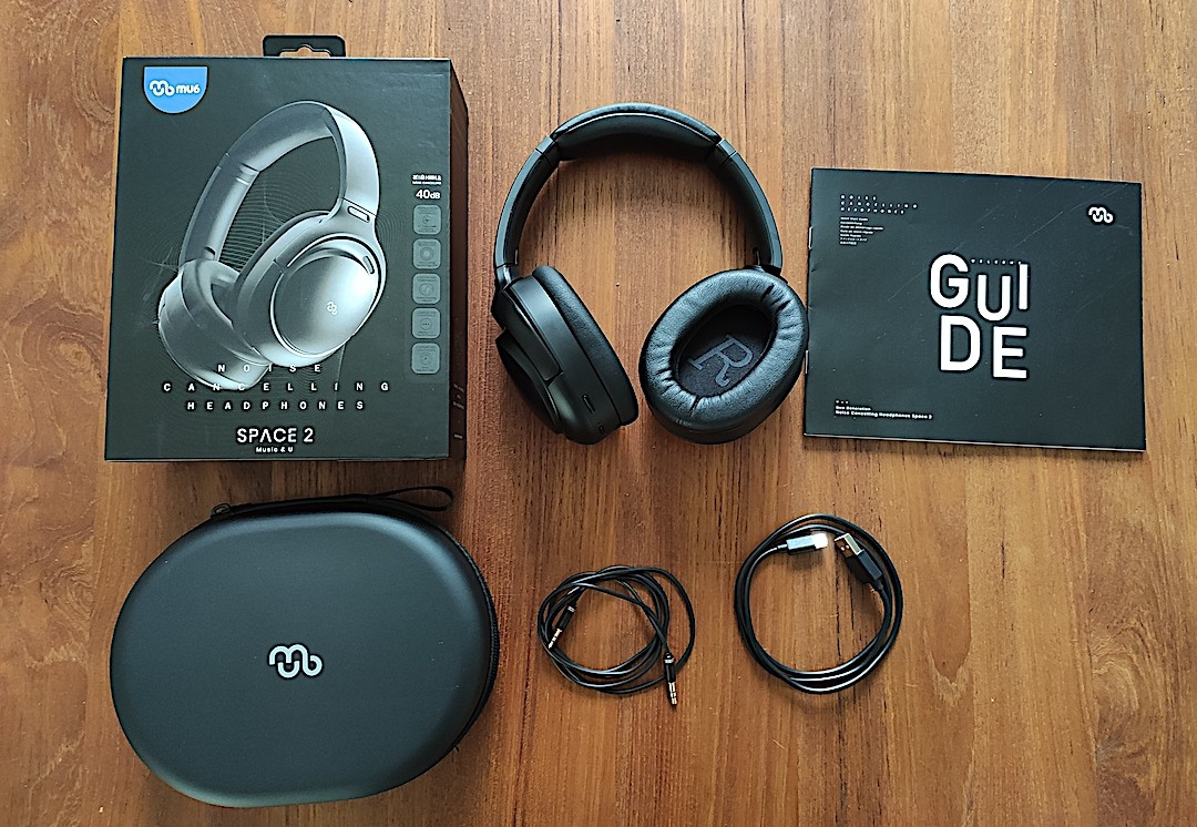 mu6 space 2 casque Bluetooth réduction bruit
