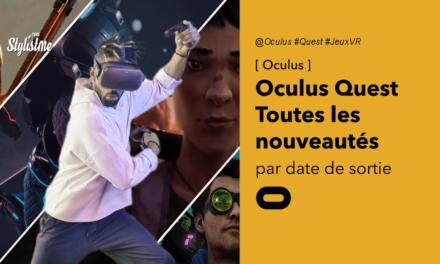Sorties Oculus Quest 2020 jeux en réalité virtuelle par date de sortie
