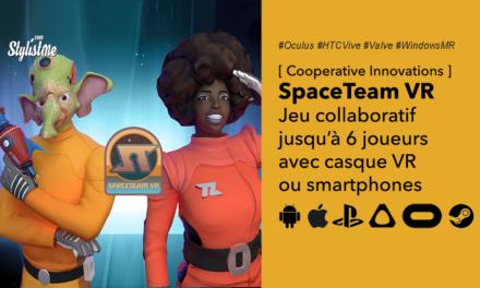 Spaceteam VR : jeu d'énigmes pour 6 joueurs casques VR et smartphones