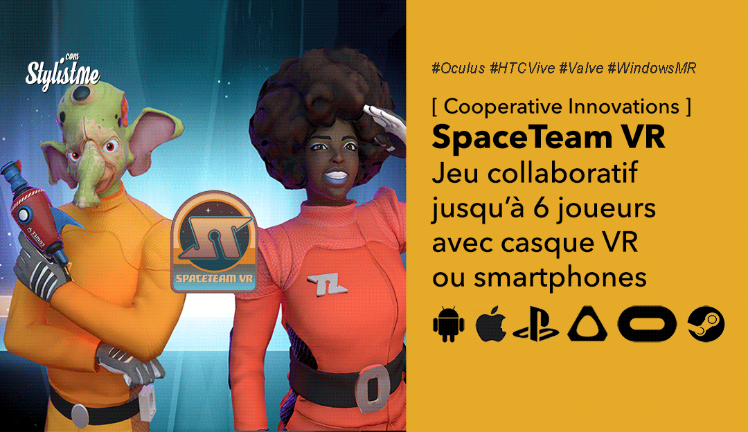 Spaceteam VR test avis prix date jeu vr coopératif