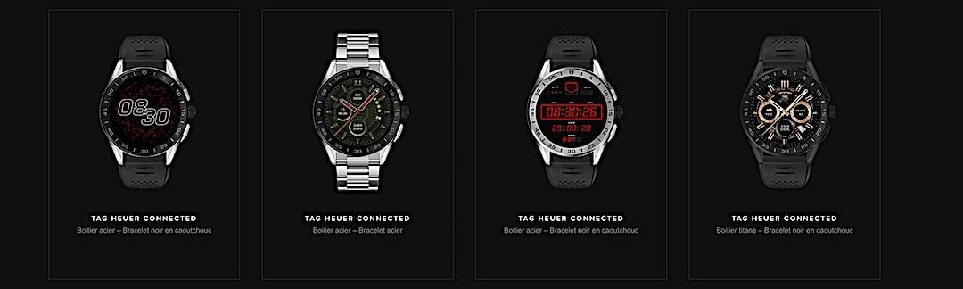 Tag Heuer Connected 2020 collection 2020