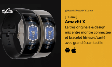Amazfit X un mix entre montre connectée et bracelet fitness