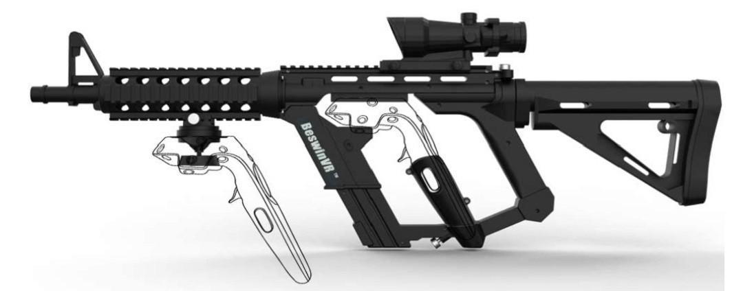 HTC Vive fusil pour contrôleur