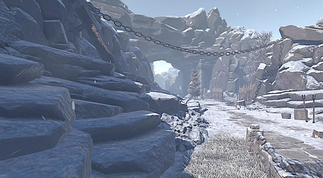 Yoren VR game of thrones magicien jeu graphisme