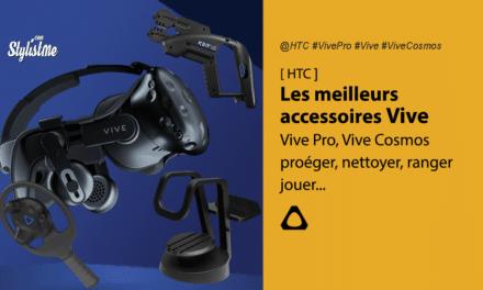 Accessoires HTC Vive les meilleurs de 2020 pour Vive, Vive Pro, Vive Cosmos
