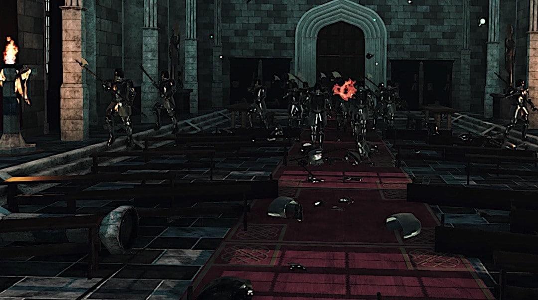 Castle VR graphismes musique avis