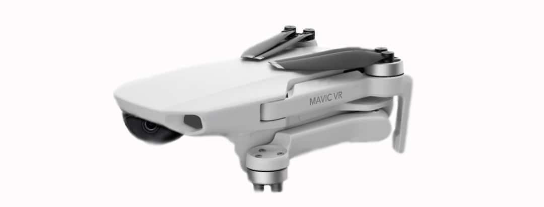 DJI Mavic VR drone réalite virtuelle Oculus Quest