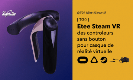 Etee Steam VR prix date avis contrôleurs de réalité virtuelle sans bouton