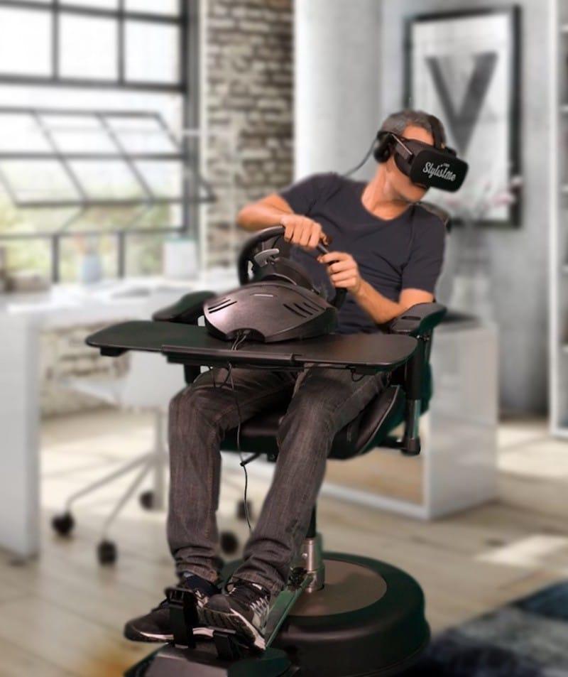 roto VR fauteuil jeu réalité virtuelle