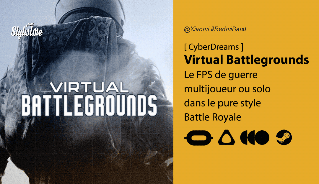Virtual Battlegrounds avis prix date de sortie jeu FPS Battle Royale en VR