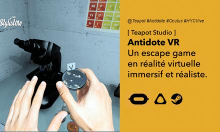 Antidote VR un véritable escape game ambiance médicale