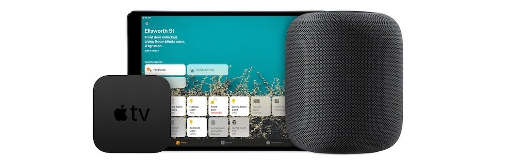 Apple HomePod enceinte téléviseur MacBook HomeKit