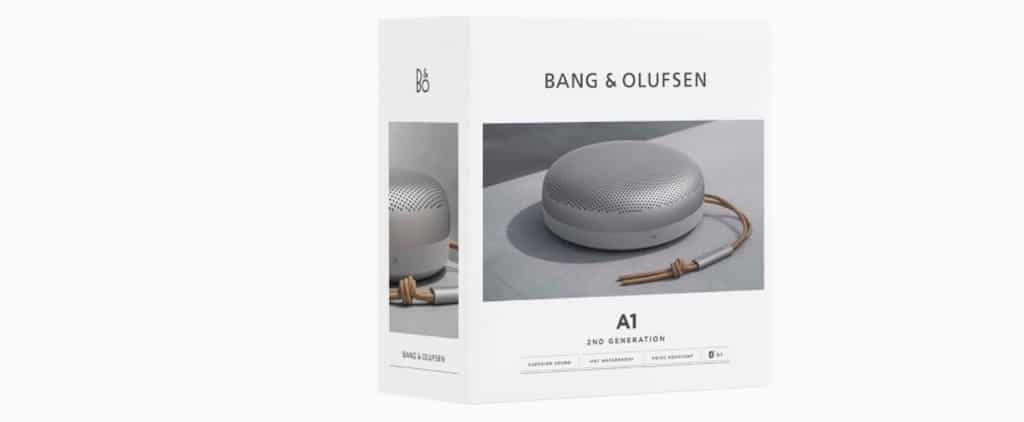Beosound A1 2 Bang Olufsen Prix date