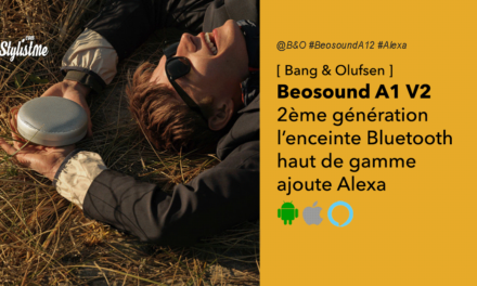 BeosoundA1 2 la mini enceinte Bluetooth haut de gamme B&0 avec Alexa