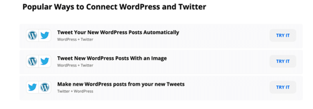 Automatisation de réseaux sociaux entre WordPress et Twitter