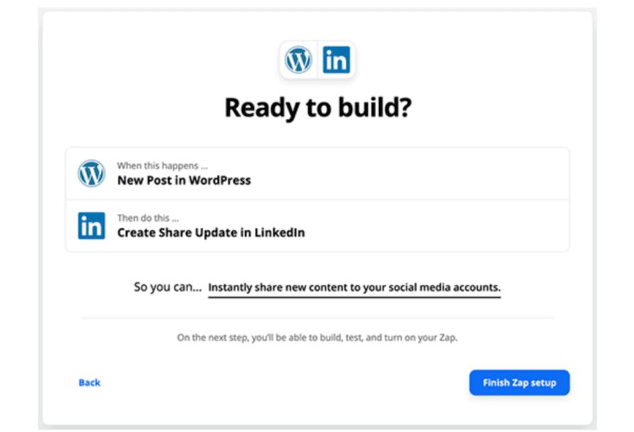 Automatisation de réseaux sociaux WordPress et LinkedIn