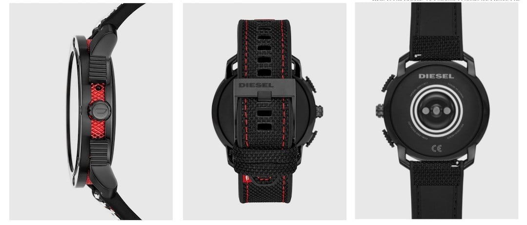 Diesel on Axial design finitions style montre connectée Wear Os