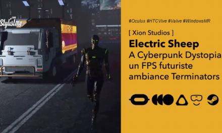 Electric Sheep: A Cyberpunk Dystopia FPS futuriste lutter contre les Terminators