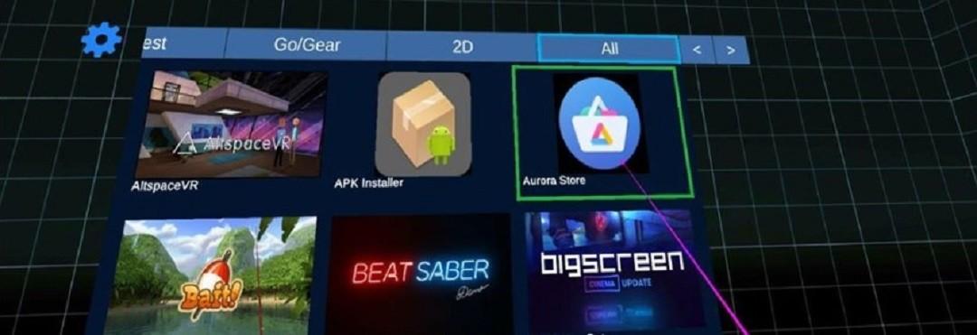 Launcher app Quest lancer toutes les sources inconnues sur Quest