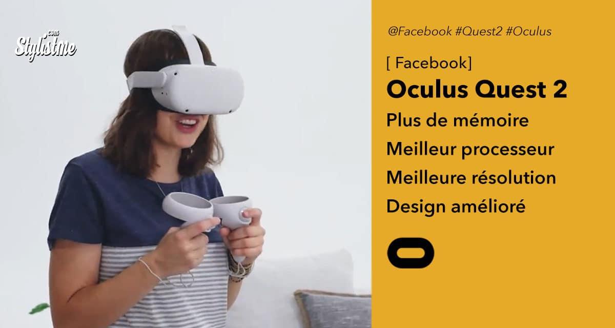 Oculus Quest 2 le meilleur casque de réalité virtuelle grand public
