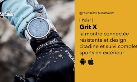 Polar Grit X : montre connectée complète design et résistance