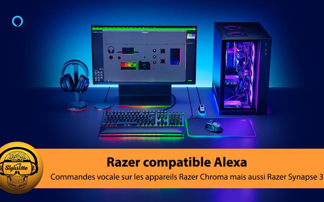 Razer compatible Alexa d'Amazon : commandes vocales pour 300 produits