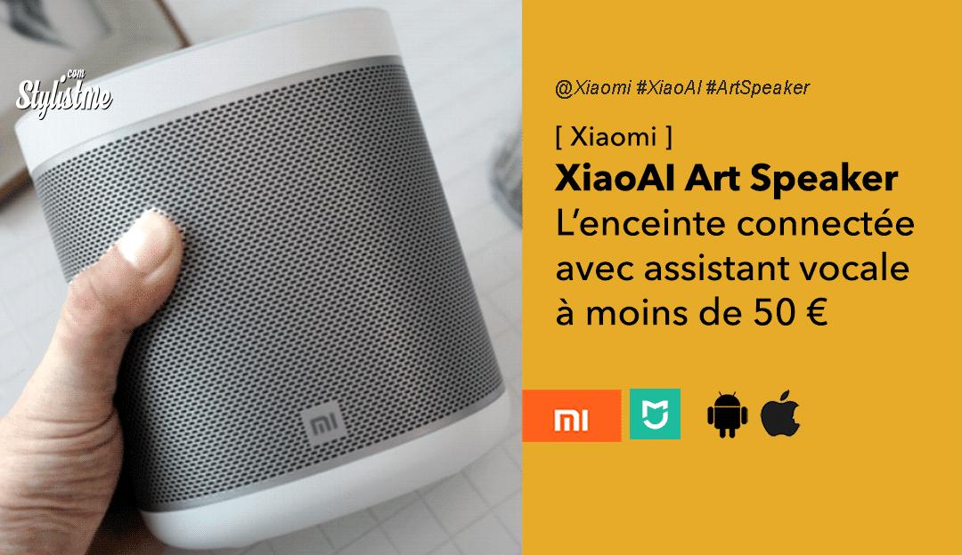 Xiaomi XiaoAI Art Speaker enceinte connectée avec assistant vocal XiaoAI