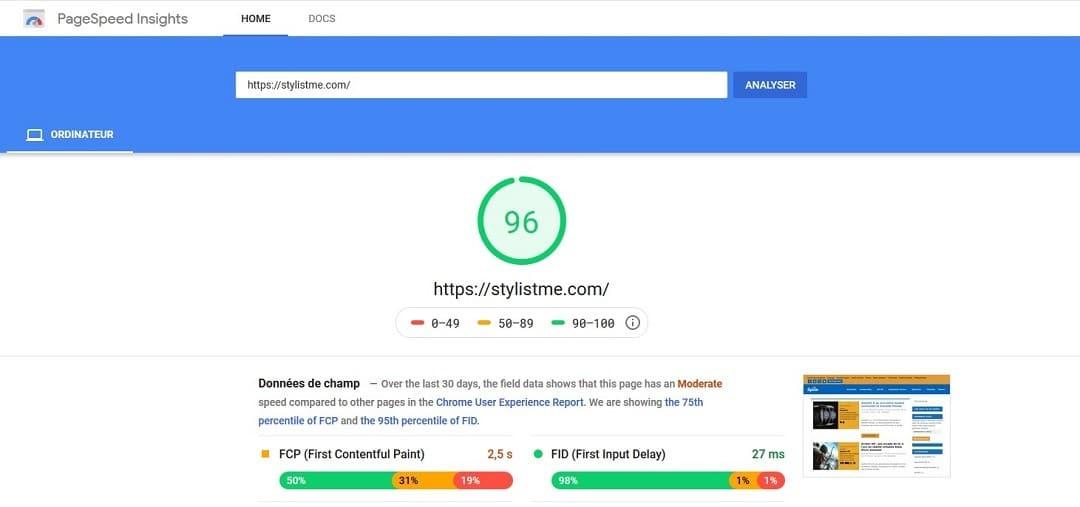 outil gratuit vitesse chargement site Comment faire revenir les 75 % de vos visiteurs sur votre blog ?