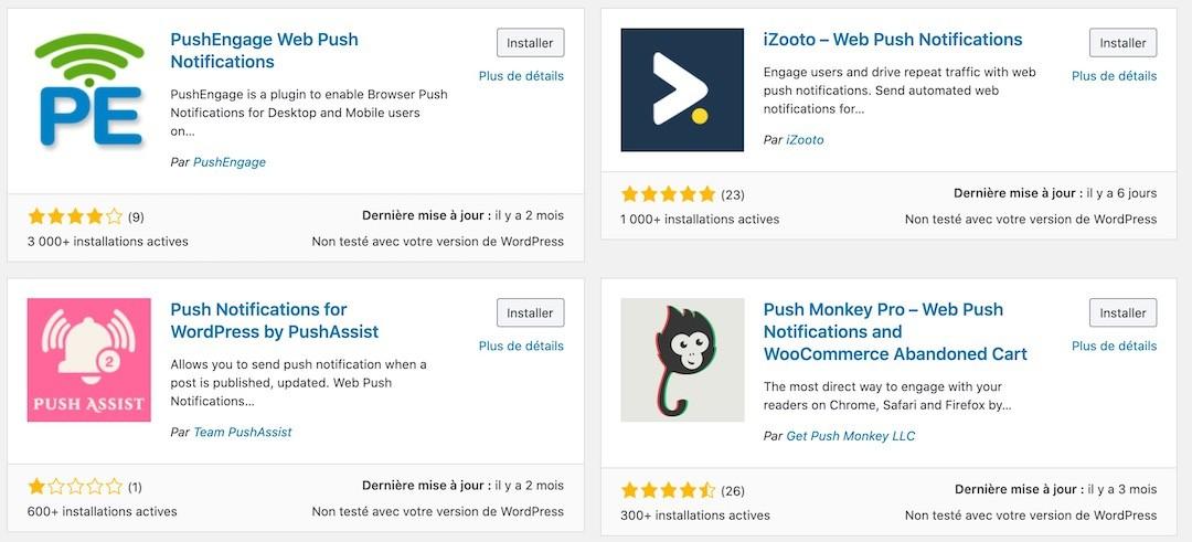 Comment faire revenir vos visiteurs sur votre site ? plugins WordPress pour les notifications push navigateur